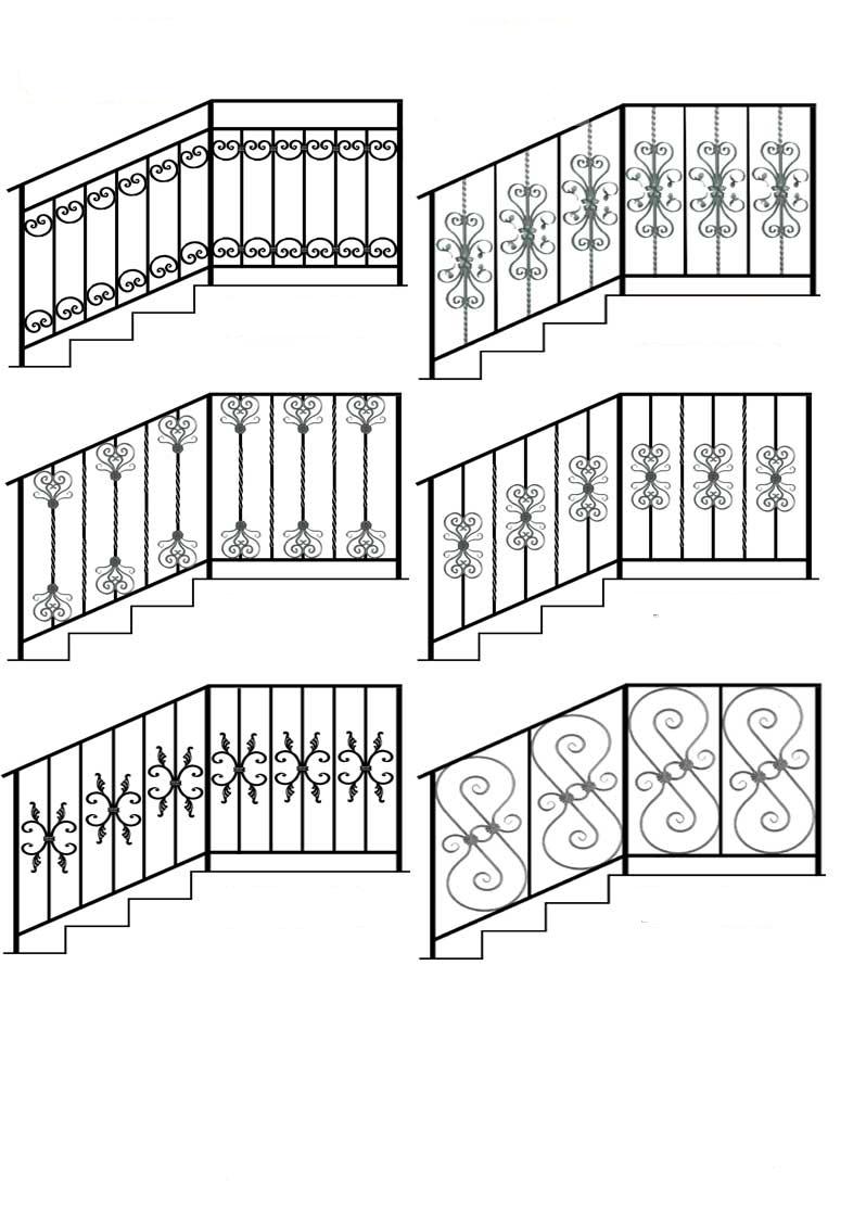 рисунки решеток: